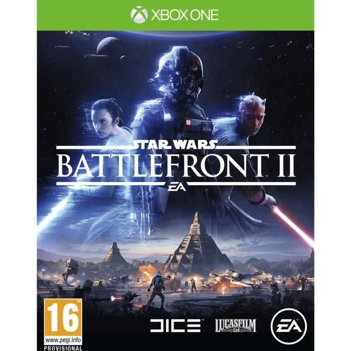 Jusqu'à 20€ offerts sur votre compte fidélité sur les précommandes de jeux vidéo - Ex : Star Wars Battlefront II sur Xbox One + 20€ sur la carte