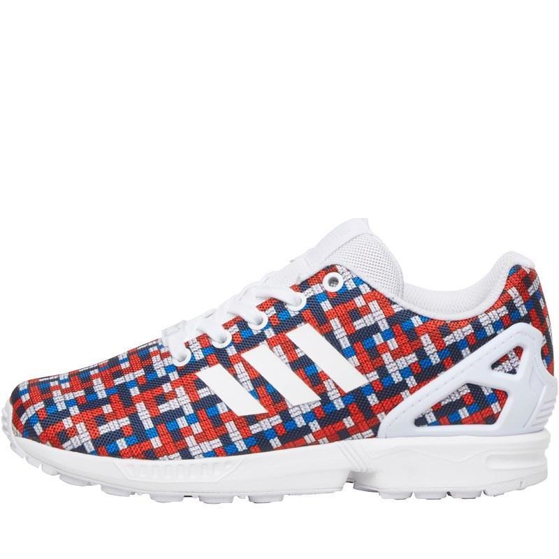 Sélection de baskets Enfants Adidas en promotion - Ex : Chaussures adidas Originals Junior ZX Flux (Tailles : du 28.5 au 40)à