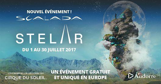 Jusqu'à 5 Places Gratuites pour le Spectacle Scalada Stelar du Cirque du Soleil entre le Jeudi 1 et le Vendredi 30 Juillet 2017