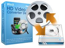 Logiciel WinX HD Video Converter Deluxe Gratuit