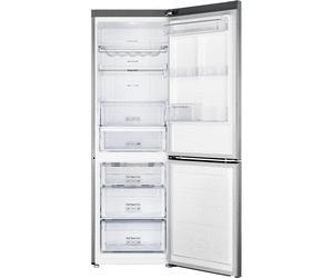Réfrigérateur / congélateur Samsung RB31FERNCSA - froid ventilé, 304 L (206+98), A++