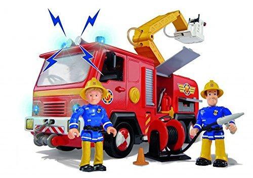 Jouet Camion Jupiter Sam le pompier inclus 2 figurines