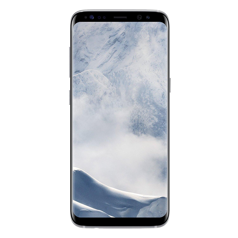 """Smartphone 5.8"""" Samsung Galaxy S8 - 4 Go de RAM, 64 Go (Noir ou Argent)"""