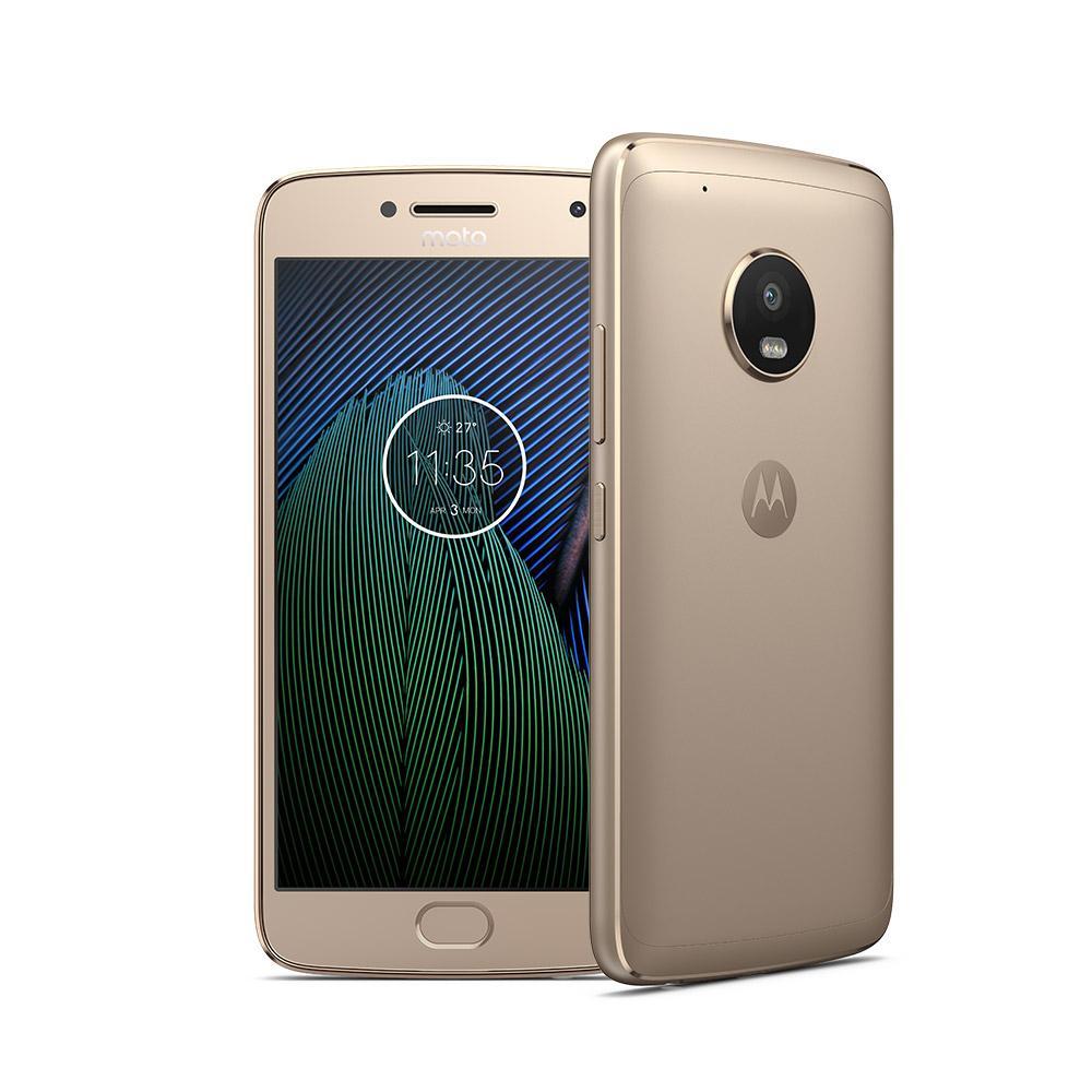 """Smartphone 5.2"""" Lenovo Moto G5 Plus - 3 Go de RAM, 32 Go, gris ou or"""