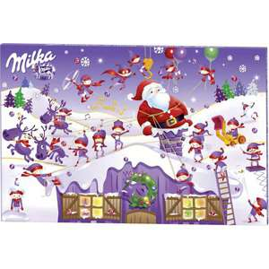 calendrier de l'Avent Milka