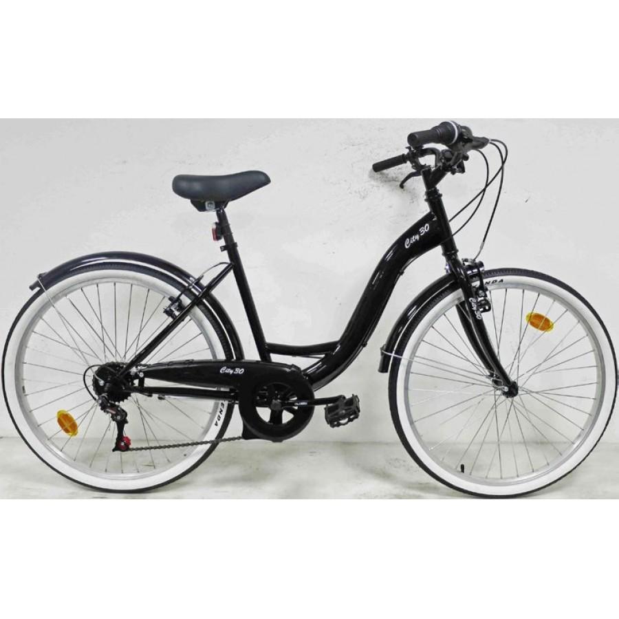 """Vélo 26""""City 30 - 6 vitesses, 14.5Kg"""