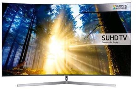 """TV LED 55"""" Incurvée Samsung UE55KS9000 - SUHD 4K, HDR, Quantum Dot, Smart TV"""
