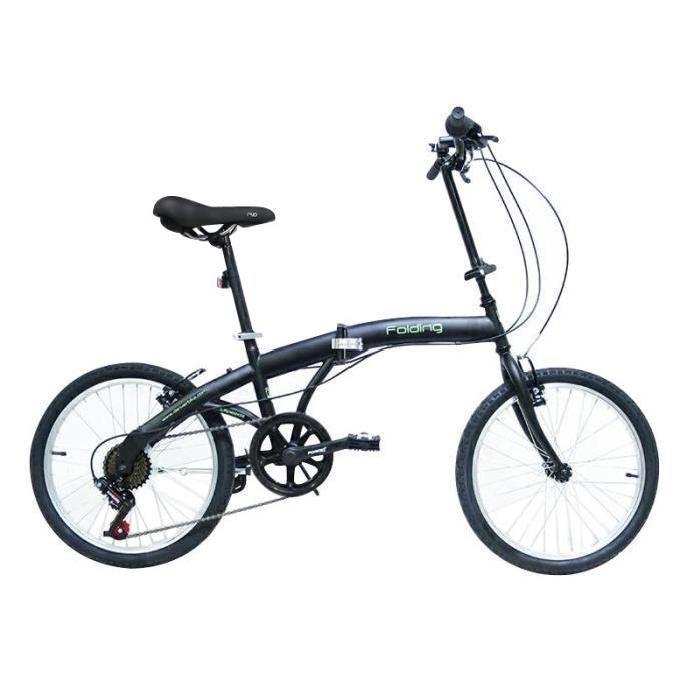 """Vélo Pliant 20"""" - Aluminium, 6 Vitesses, 14 kg"""