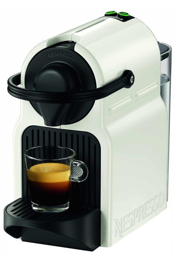 Machine à Café Nespresso Krups Inissia YY1530FD - Blanc + 50 Capsules offertes dès 100 Capsules achetées (via ODR de 30€)
