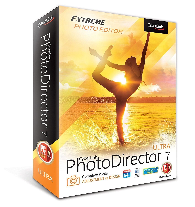 Logiciel Cyberlink PhotoDirector 7 « Ultra » Gratuit en temps limité sur PC et Mac