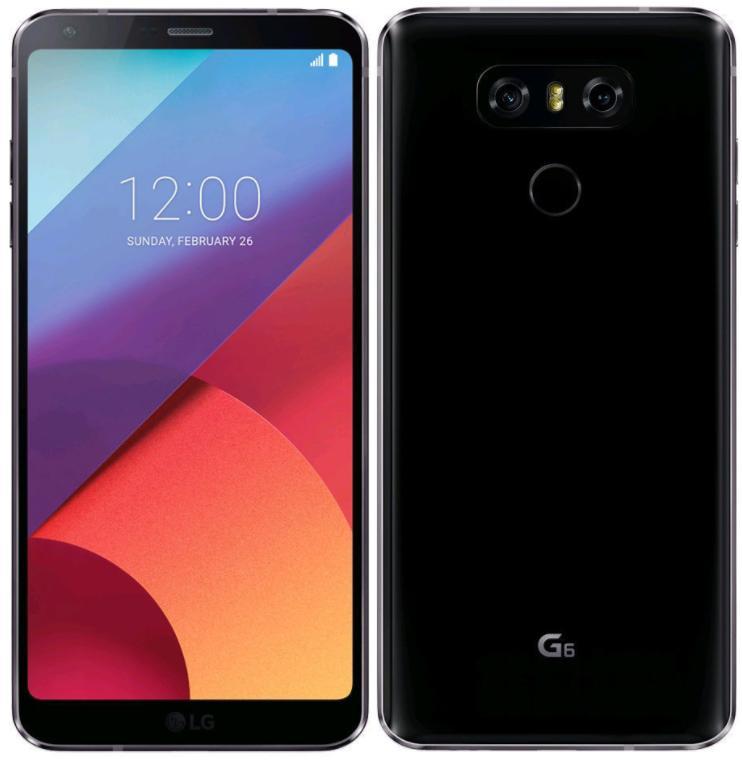 "Smartphone 5.7"" LG G6 - Dual Sim - 64 Go"