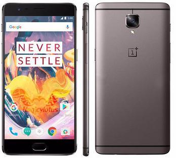 "Smartphone 5.5"" OnePlus 3T Dual SIM Global Version (Coloris au choix) - 4G (B3/B7/B20), FHD, Quad-core Snapdragon 821, RAM 6Go, 64Go, 3400mAh, Android Nougat"