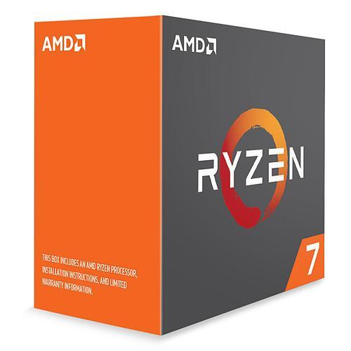 Processeur AMD Ryzen 7 1800X (3.6GHz) - AM4, 8C/16T, 95W
