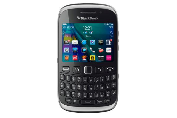 Blackberry Curve 9320 Garantie 2 ans avec forfait RED sans engagement + Maillot Equipe de France Nike (Taille S)