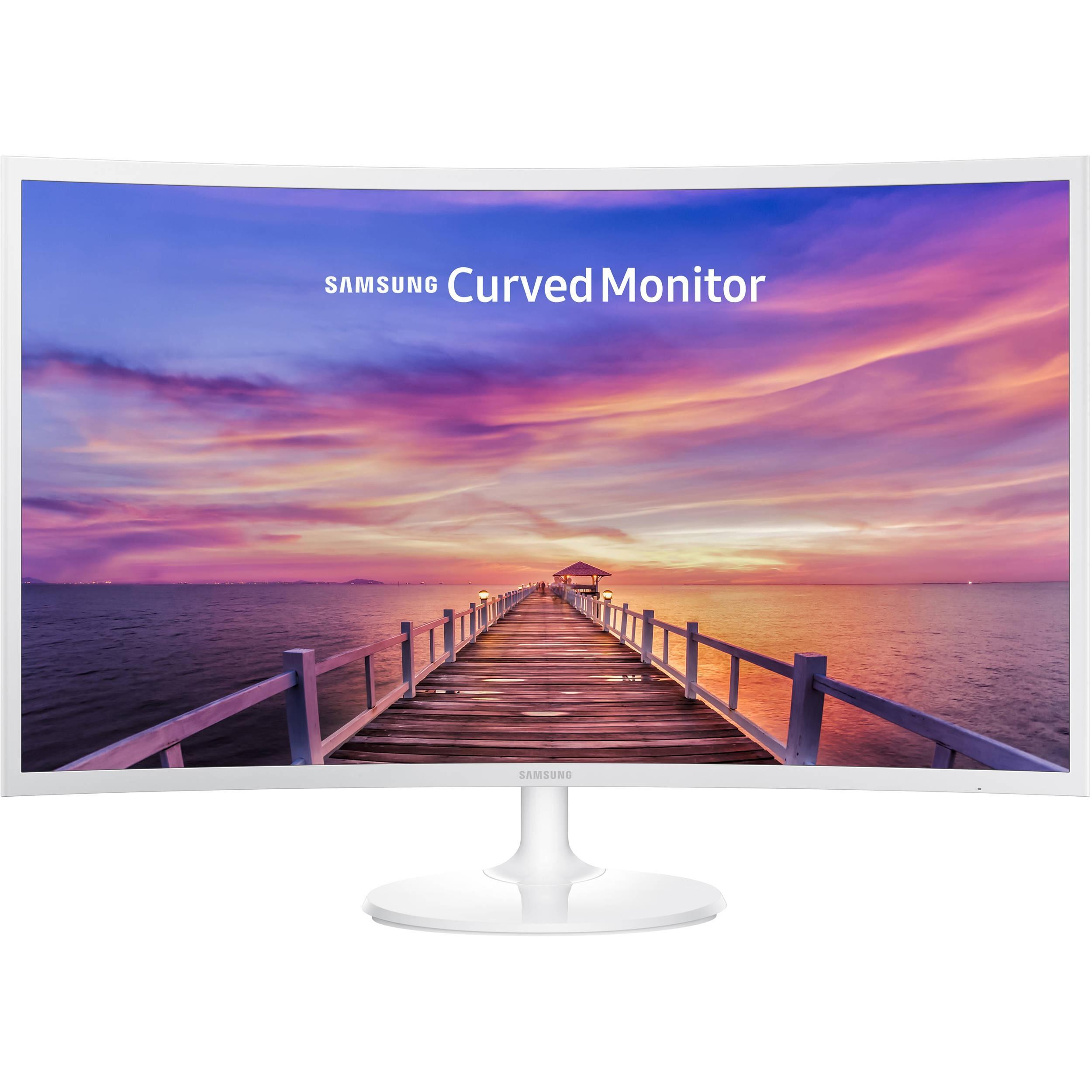 "Ecran PC incurvé 32"" Samsung C32F391 - Full HD, Dalle VA (via ODR 15%)"