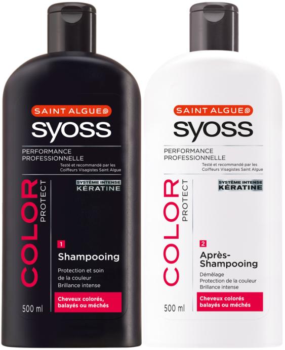 Le lot de 2 Shampooing SYOSS (70% sur carte fidélité)