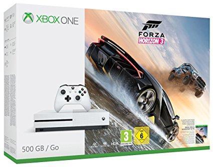Console Xbox One S 500 Go + Forza Horizon 3