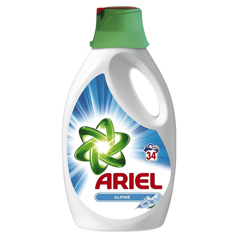 Sélection de lessives liquides ou en poudre Ariel en promotion - Ex : [Panier Plus] bidon de lessive liquide Ariel Original (2.21 L)