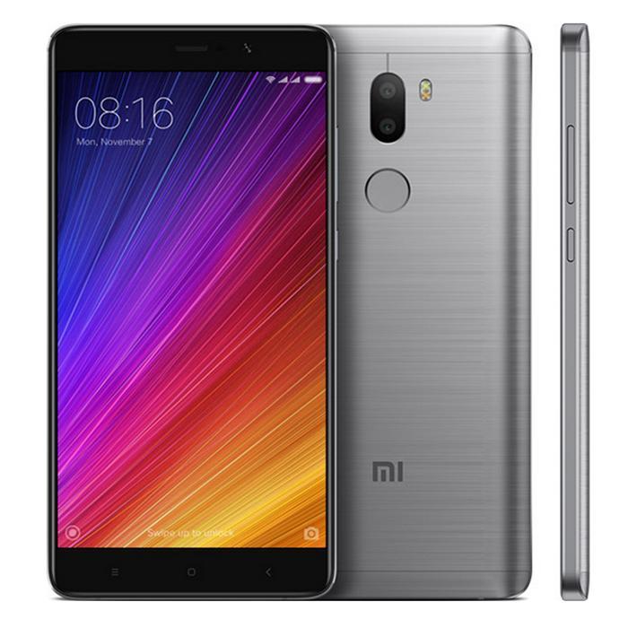 "Smartphone 5.7"" Xiaomi Mi5S Plus - Snapdragon 821, RAM 4 Go, ROM 64 Go (Sans B20)"