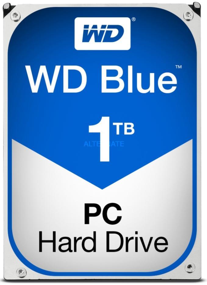 "Disque Dur 3.5"" Western Digital Blue 1 To (64 Mo de cache), 7200 rpm"