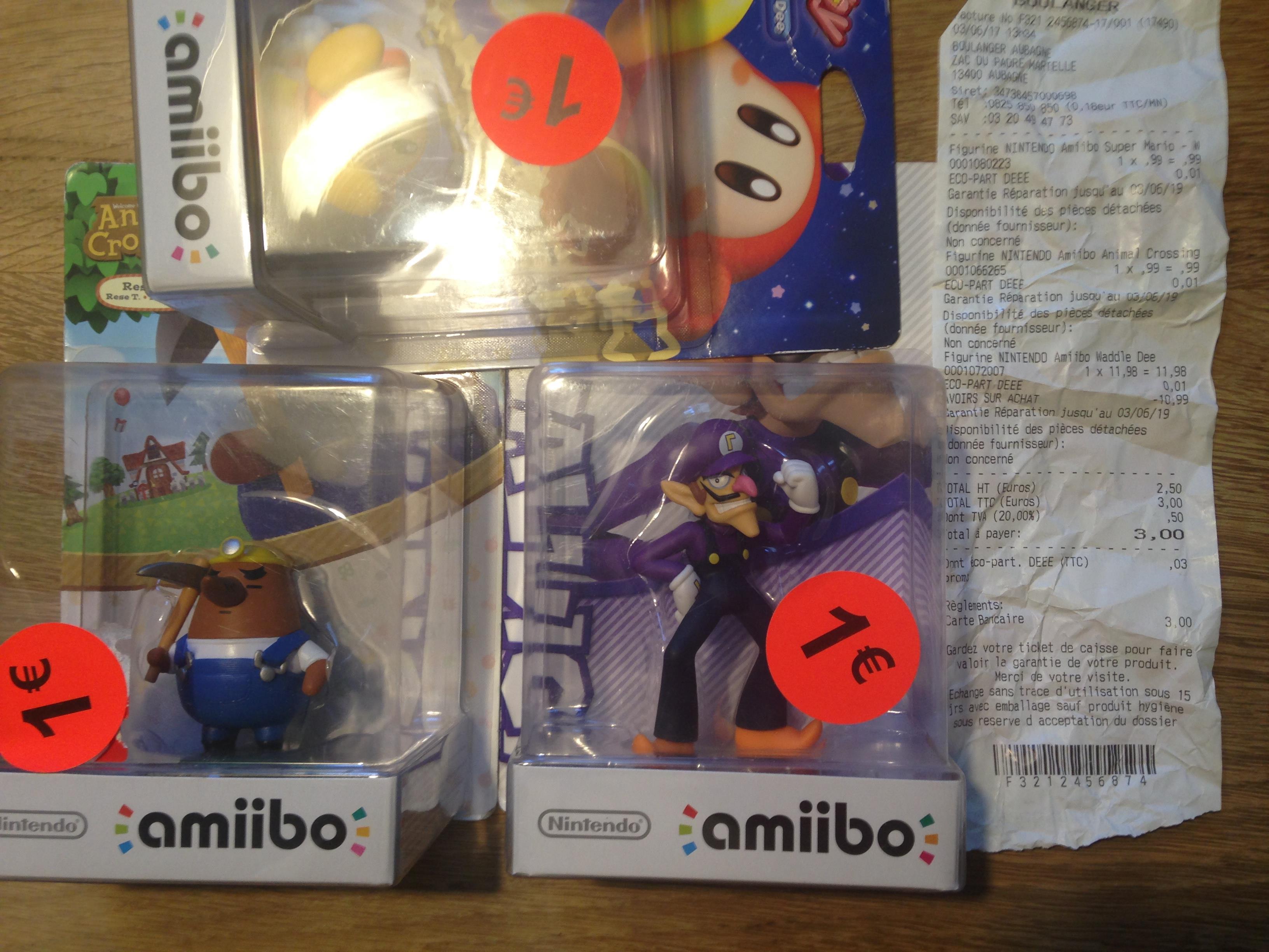 Figurines Amiibo et Skylanders