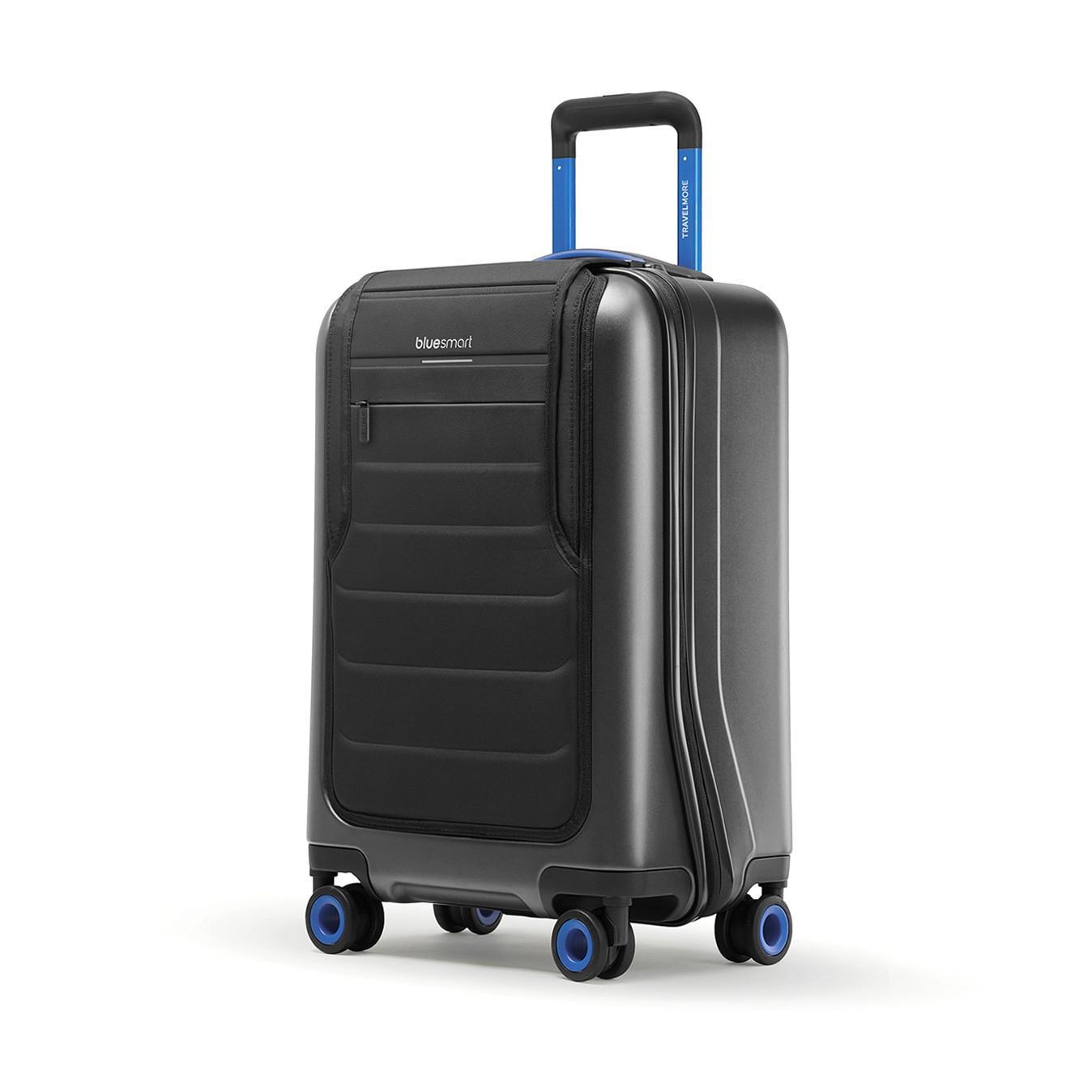 Valise connectée BlueSmart One 34L (GPS, Batterie pour recharger des périphériques, Mesure du poids)