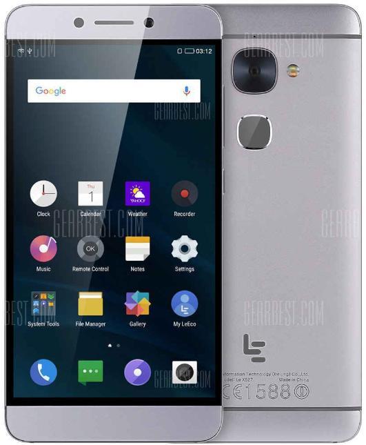 "Smartphone 5.5"" Letv Leeco Le 2 X527 - Snapdragon 652, RAM 3 Go, ROM 32 Go (B20 incluse)"