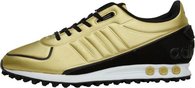 Sélection d'articles Adidas en Promotion - Ex:  Baskets adidas Originals La Trainer II Or / Noir / Blanc pour Hommes (Tailles au choix)