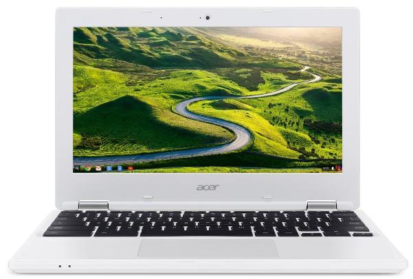"PC Portable 11"" Acer Chromebook CB3-131-C9F0 Blanc - Celeron N2840, RAM 4Go, 32Go, Chrome OS"