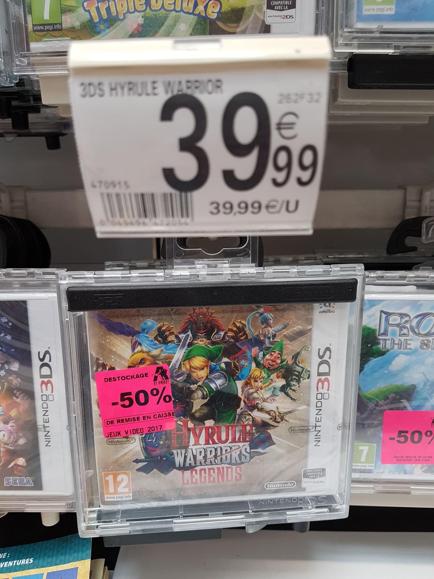 Jeu Hyrule Warriors Legends sur 3DS