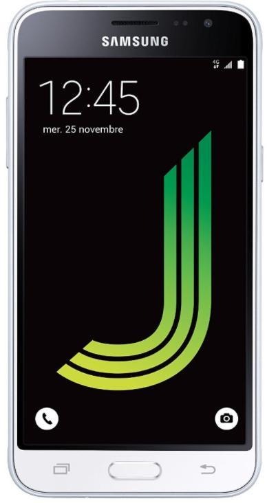 "Smartphone 5"" Samsung Galaxy J3 - 8 Go, Micro-SIM, Android Lollipop 5.1"