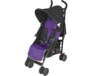 Sélection de poussettes MacLaren en promotion - Ex : Quest (noir / violet)