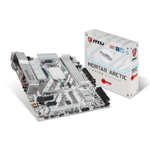 Carte mère MSI H270M Mortar Arctic - Socket LGA 1151 - DDR4 (via ODR 15€)