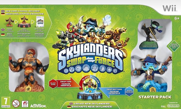 Skylanders Swap Forces Wii