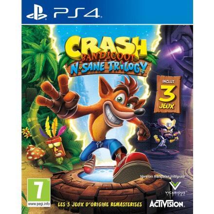 [Précommande] Crash Bandicoot N.Sane Trilogy sur PS4