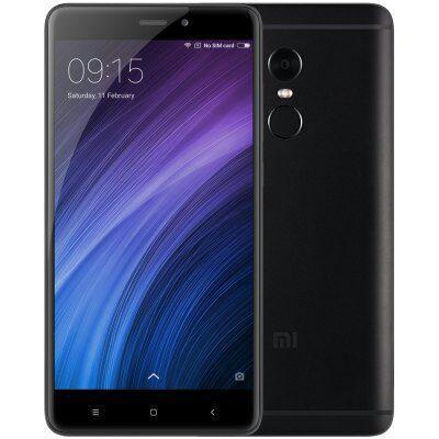 "Smartphone 5.5"" Xiaomi Redmi Note 4 Pro Dual SIM (Global Version) - 4G (B20), FHD, Octa-core Snapdragon 625, RAM 4Go, 64Go, 4100mAh, Android MIUI 8.1à"