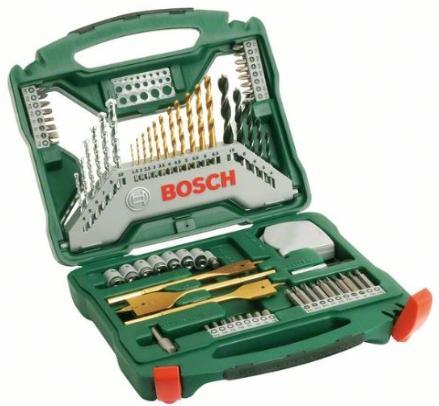 Coffret Bosch X-Line 2607019329 Titane - 70 Pièces