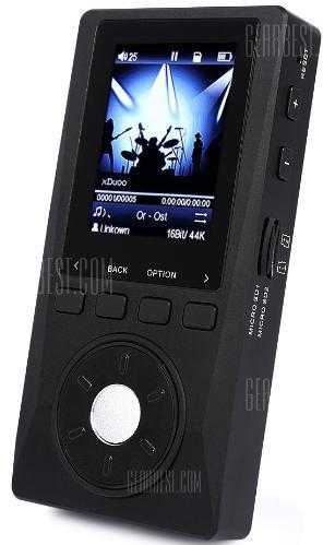 """Baladeur Audiophile 2"""" xDuoo X10 Noir - MP3 / FLAC / DSD, 2400mAh"""