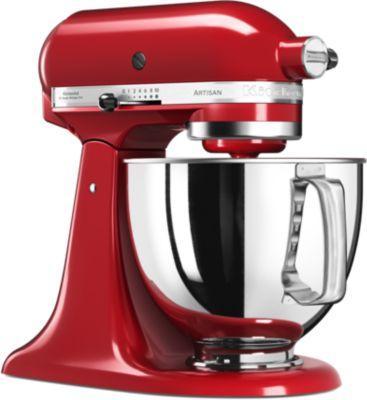 Robot pâtissier Kitchenaid 5KSM125EER Rouge Empire + Sorbetière offerte (via ODR)