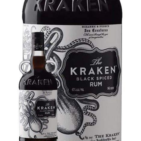 Bouteille de Rhum Kraken Black Spiced - 70 cl