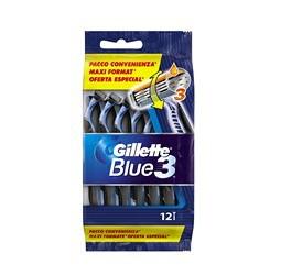 2 paquets de 12 rasoirs jetables Gillette Blue 3