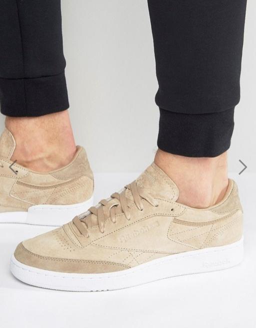 20% de réduction sur une sélection d'articles - Ex : chaussures Reebok Club C85-LST - en daim, beige (du 38 au 48.5)
