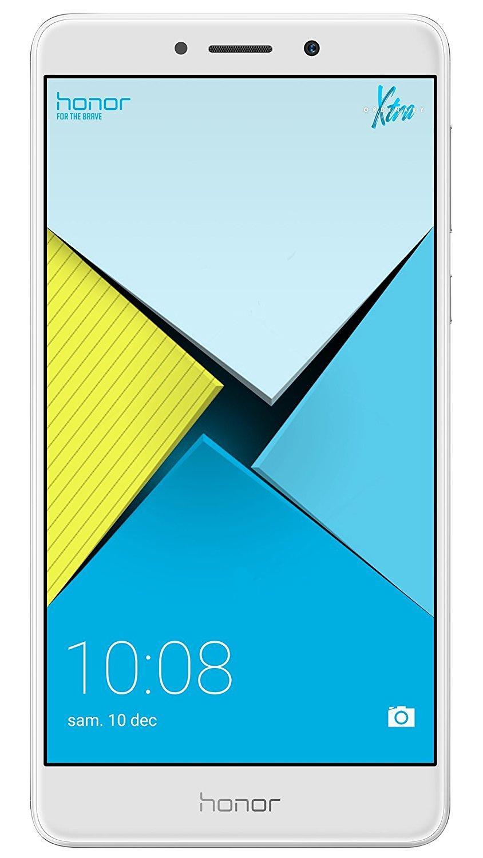 """Smartphone 5.5"""" Honor 6X Silver - Full HD, Kirin 655, ROM 32 Go, RAM 3 Go"""