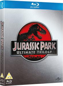 Coffret Blu-ray Trilogie Jurassic Park