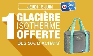 [Carte de fidélité] Une glacière isotherme offerte dès 50€ d'achat