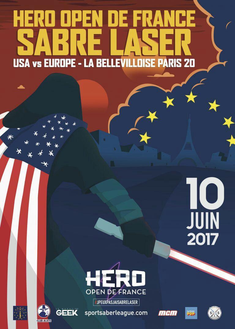 Place gratuite pour l'Open de France de Sabre laser + initiation au sabre laser