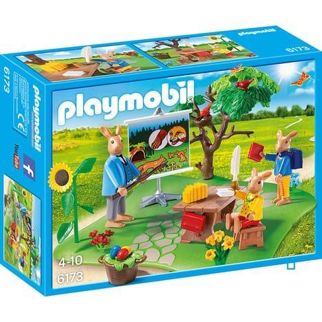 Jouet Playmobil Ecole Lapins - 6173