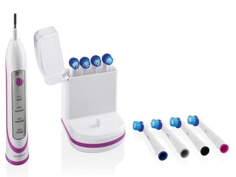 Brosse à dents électrique sans fil + 8 brossettes