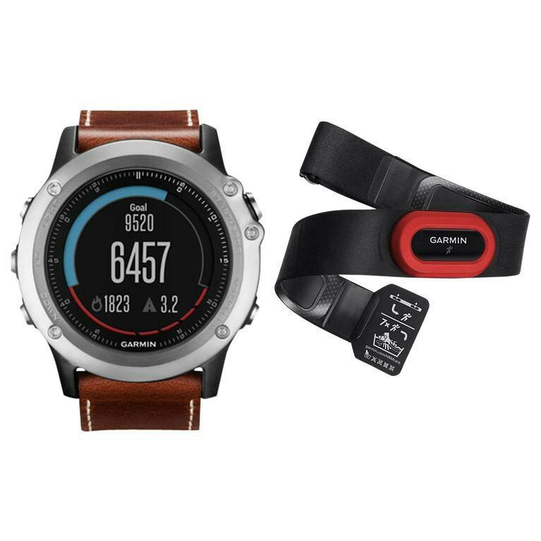Montre GPS Garmin Fenix 3 sapphire HRM