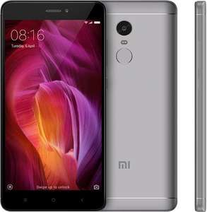 "Smartphone 5.5"" Xiaomi Redmi Note 4 (Global Version) - B20, Full HD, Snapdragon 625 - 3/32 Go (Noir) à 124.38€ et 4/64 Go (Gris)"